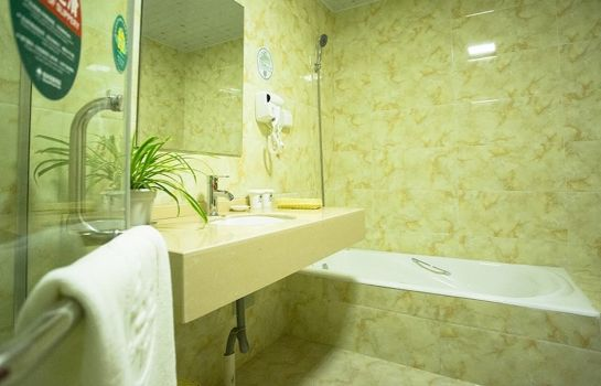 Cuarto de baño GreenTree Inn International Film City South JinShan Road (Domestic only)