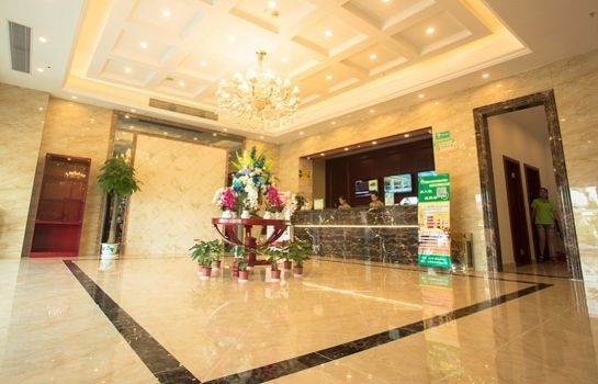 Vestíbulo del hotel GreenTree Inn International Film City South JinShan Road (Domestic only)
