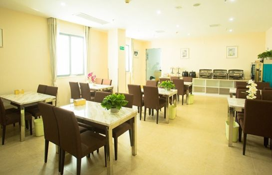 Restaurante GreenTree Inn International Film City South JinShan Road (Domestic only)