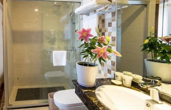 Bagno in camera GreenTree Inn Paris Spring Express (Domestic only)