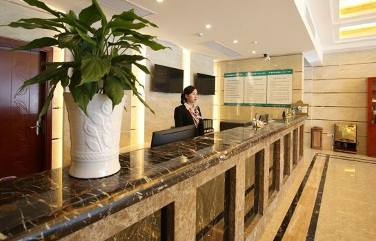 Recepción GreenTree Inn Lujia Town Furong Road Express (Domestic only)