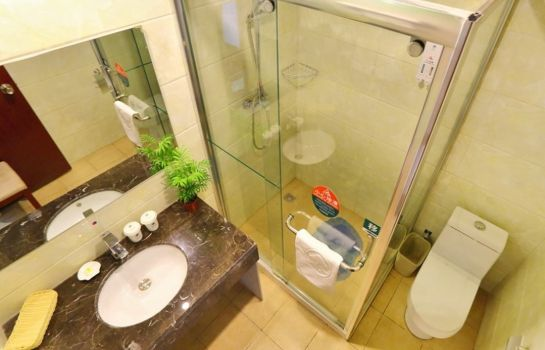 Cuarto de baño GreenTree Inn Software Valley DaDingFang Express Hotel (Domestic only)