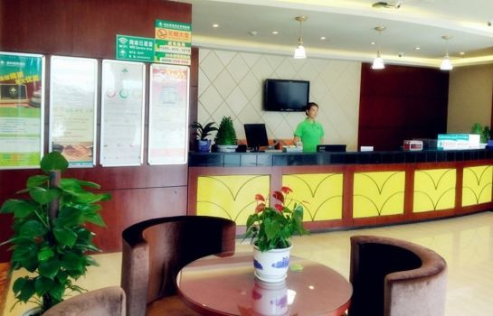 Reception GreenTree Inn MaQun Street NingZhi Road Shell Hotel (Domestic only)