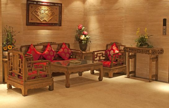 Vista all'interno Yijia City Hotel DuJiangYan Branch