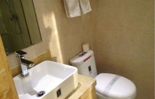 Bagno in camera Lantian Business Hotel
