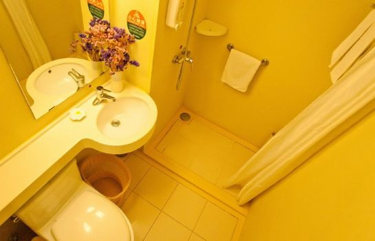 Bagno in camera GreenTree Inn Gate Subway Station (Domestic only)