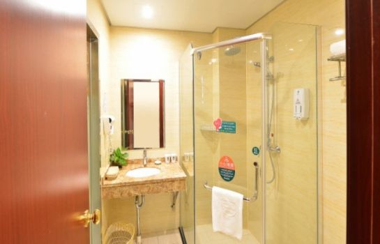 Salle de bains GreenTree Inn DongTing Leather City (Domestic only)