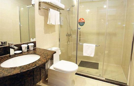 Bagno in camera GreenTree Inn Gaotie Wanda Square Express (Domestic only)