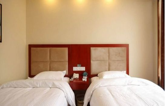 Chambre double (standard) GreenTree Inn Passenger Station Zhongyuan (Domestic only)