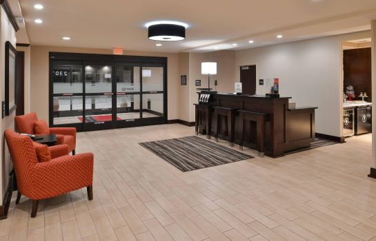 Vestíbulo del hotel Hampton Inn - Suites Mount Joy-Lancaster West PA