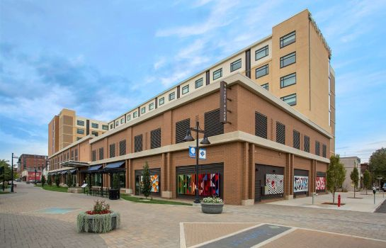Buitenaanzicht Hyatt Place Bloomington Indiana