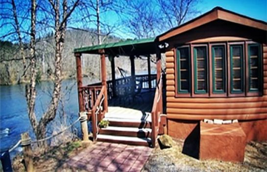 Exterior view ASHEVILLE RIVER CABINS