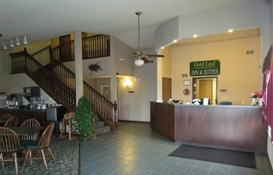 Vestíbulo del hotel GOLD LEAF INN AND SUITES