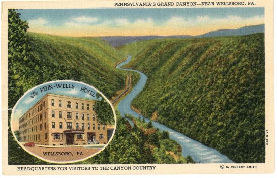 Info THE PENN WELLS HOTEL AND LODGE