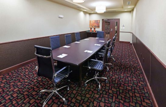 Conference room La Quinta Inn Suites Elk City