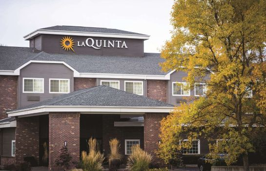 Exterior view La Quinta Inn Ste Spokane North