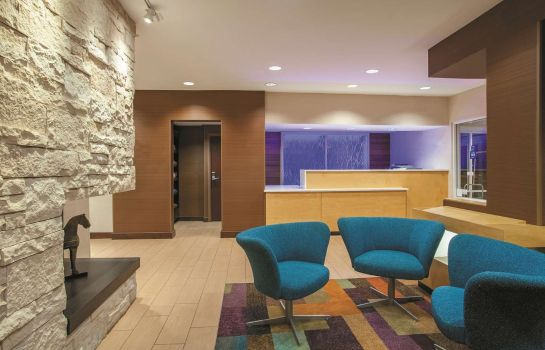 Hol hotelowy La Quinta Inn and Suites Manassas