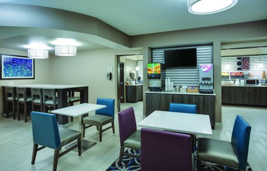 Hol hotelowy La Quinta Inn and Suites Batavia