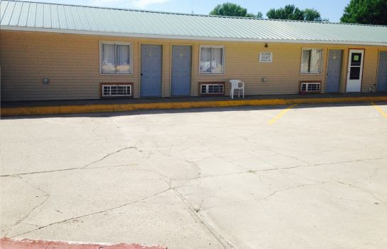Vista exterior BIG 12 MOTEL BROKEN BOW