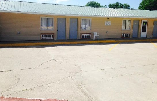 Vista esterna BIG 12 MOTEL BROKEN BOW