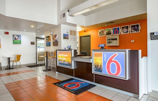 Hall de l'hôtel MOTEL 6 BOZEMAN MT