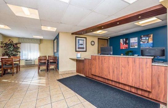 Hall de l'hôtel MOTEL 6 CEDAR RAPIDS AIRPORT
