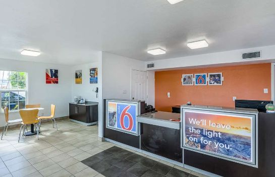 Hol hotelowy MOTEL 6 FORT WORTH - NORTHSIDE