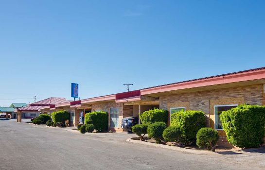 Exterior view Motel 6 Hobbs NM