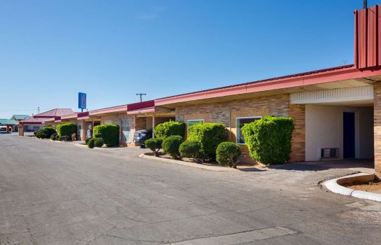Vista esterna Motel 6 Hobbs NM