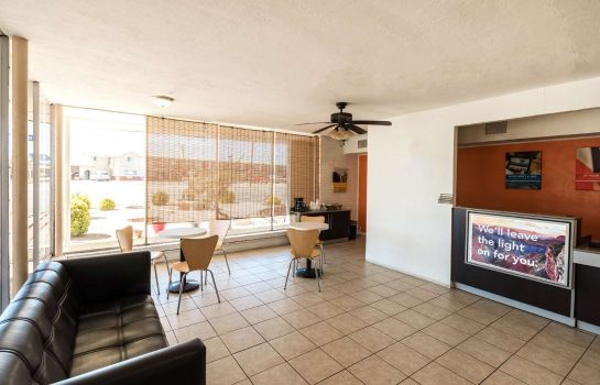 Lobby Motel 6 Hobbs NM