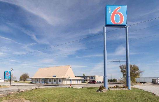 Buitenaanzicht MOTEL 6 MATTOON IL