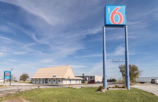 Vista exterior MOTEL 6 MATTOON IL