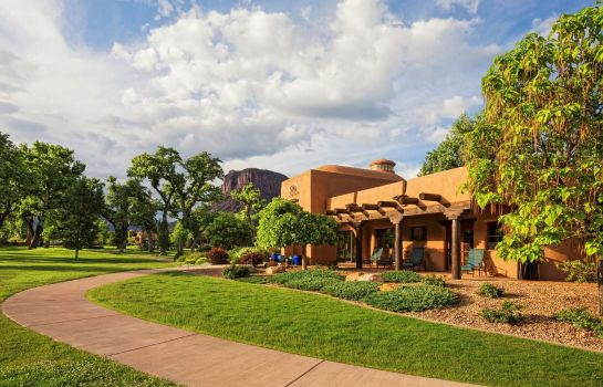 Vista esterna Gateway Canyons Resort & Spa