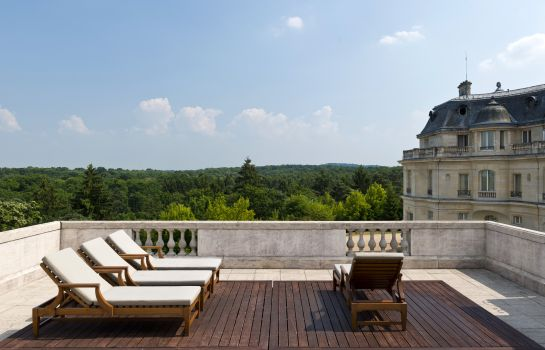 Terrazza Tiara Château Hôtel Mont Royal Chantilly
