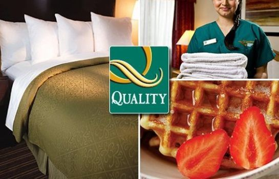 Buitenaanzicht QUALITY INN AND SUITES