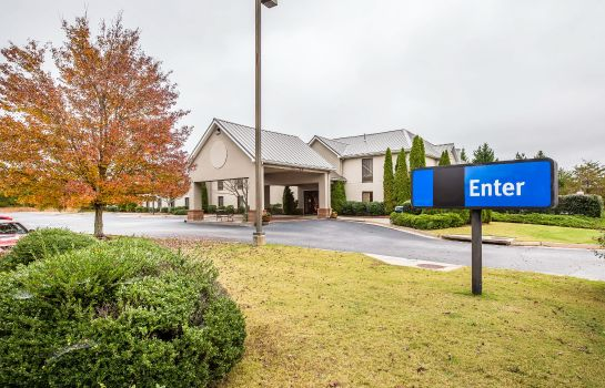 Exterior view Quality Inn & Suites Dawsonville