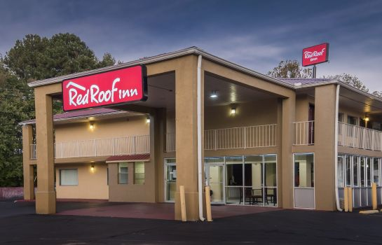 Exterior view Red Roof Inn Acworth