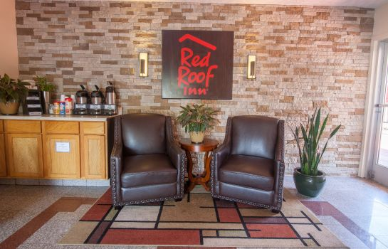 Hotelhalle Red Roof Inn Crossville