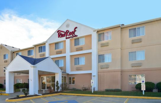 Buitenaanzicht IL Red Roof Inn and Suites Danville