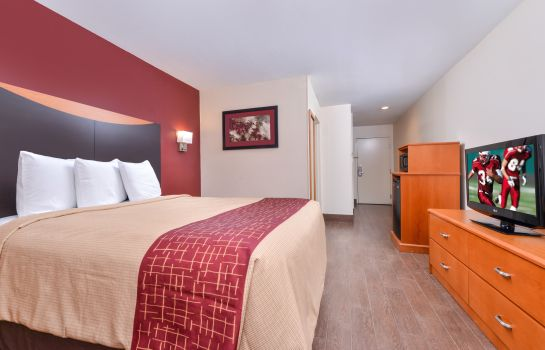 Kamers IL Red Roof Inn and Suites Danville
