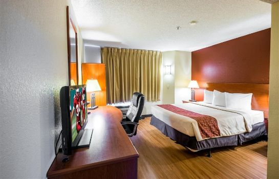 Chambre Red Roof Inn Houston - JFK BLVD/IAH Airport