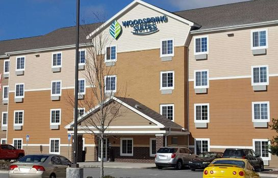 Exterior view WOODSPRING SUITES JACKSONVILLE