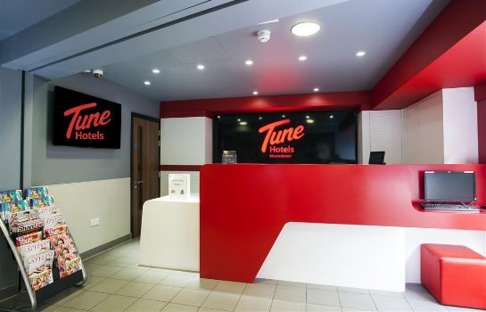 Hall TUNE HOTEL WESTMINSTER LONDON