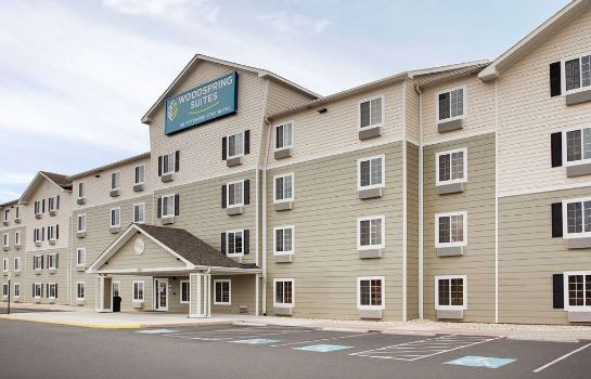 Exterior view WOODSPRING SUITES MANASSAS