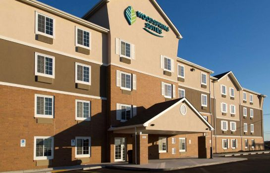 Vista exterior WOODSPRING SUITES
