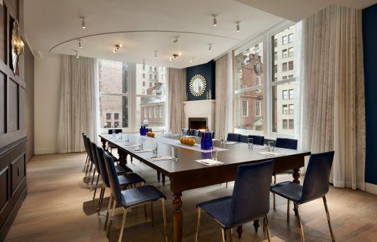 Tagungsraum Ames Boston Hotel Curio Collection by Hilton