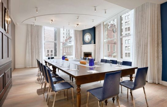 Sala de reuniones Ames Boston Hotel Curio Collection by Hilton