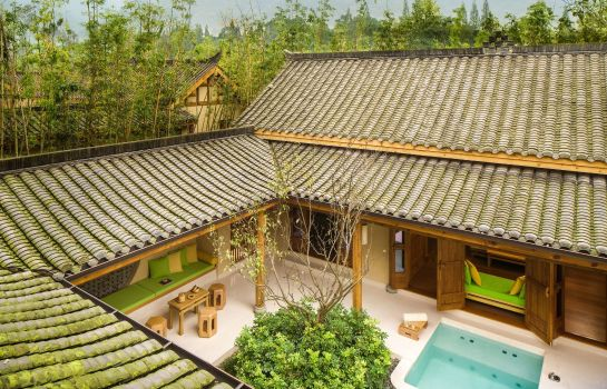 Vista esterna SIX SENSES QING CHENG MOUNTAIN