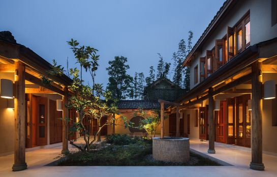 Buitenaanzicht SIX SENSES QING CHENG MOUNTAIN