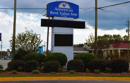 Exterior view Americas Best Value Inn Dillon